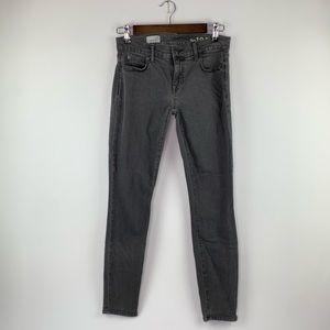 GAP 1969 Skinny Grey Ankle Legging Jeans 25 R